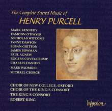 Henry Purcell (1659-1695): The Complete Sacred Music, 11 CDs