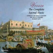 Antonio Vivaldi (1678-1741): Geistliche Musik, 11 CDs