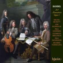 Georg Friedrich Händel (1685-1759): 20 Sonaten op.1, 3 CDs