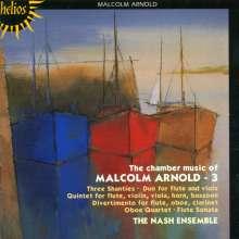 Malcolm Arnold (1921-2006): Kammermusik Vol.3, CD