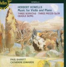 Herbert Howells (1892-1983): Werke für Violine & Klavier, CD