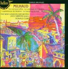 Darius Milhaud (1892-1974): La Carnaval d'Aix f.Klavier & Orch., CD