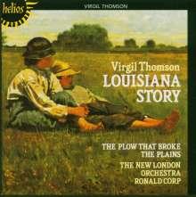 Virgil Thomson (1896-1989): The Plow that Broke the Plains (Filmmusik), CD