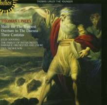 Thomas Linley (Der Jüngere) (1756-1778): Music for the Tempest, CD
