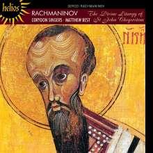 Sergej Rachmaninoff (1873-1943): Chrysostomos-Liturgie op. 31 Liturgie des Hl.Joh.Chrysostomus op.31, CD