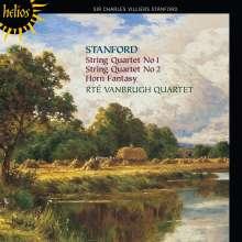 Charles Villiers Stanford (1852-1924): Streichquartette Nr.1 & 2, CD
