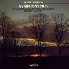 Robert Simpson (1921-1997): Symphonie Nr.9, CD
