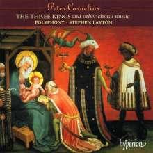 Peter Cornelius (1824-1874): Chorwerke a cappella, CD
