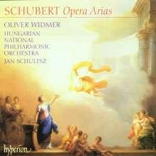 Oliver Widmer singt Schubert-Arien, CD