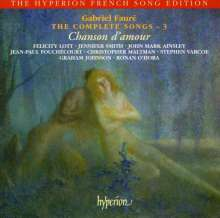 Gabriel Faure (1845-1924): Sämtliche Lieder Vol.3, CD