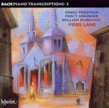 Johann Sebastian Bach (1685-1750): Transkriptionen für Klavier Vol.3, CD