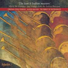 Fam'd Italian Masters - Musik für 2 Trompeten, Streicher, Bc, CD