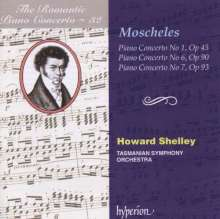Ignaz Moscheles (1794-1870): Klavierkonzerte Nr.1,6,7, CD