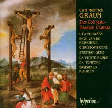 Carl Heinrich Graun (1703-1759): Der Tod Jesu, 2 CDs