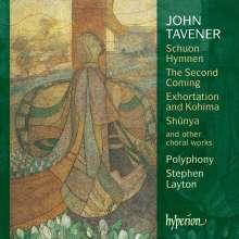 John Tavener (1944-2013): Chorwerke, CD