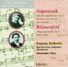 Eduard Napravnik (1839-1916): Concerto symphonique op.27 für Klavier & Orchester, CD
