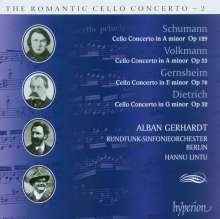 Alban Gerhardt - The Romantic Cello Concerto 2, CD