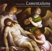 Giovanni Pierluigi da Palestrina (1525-1594): Lamentationes (Buch 3), CD
