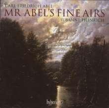 Carl Friedrich Abel (1723-1787): Mr.Abel's Fine Aires - Musik für Viola da gamba solo, CD