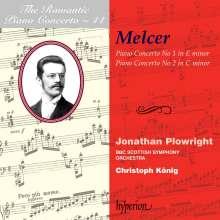 Henryk Melcer (1869-1928): Klavierkonzerte Nr.1 & 2, CD