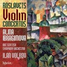 Nikolaj Roslavets (1881-1944): Violinkonzerte Nr.1 & 2, CD
