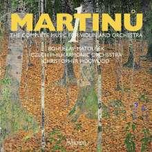 Bohuslav Martinu (1890-1959): Sämtliche Werke für Violine & Orchester Vol.1, CD