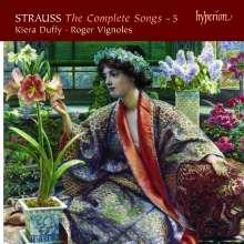 Richard Strauss (1864-1949): Sämtliche Klavierlieder Vol.5, CD
