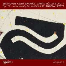 Ludwig van Beethoven (1770-1827): Cellosonaten Vol.2, CD
