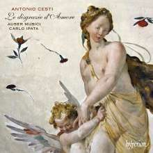 Marc (Pietro) Antonio Cesti (1623-1669): Le Disgrazie D'Amore, 2 CDs