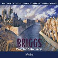 David Briggs (geb. 1962): Messe pour Notre Dame, CD