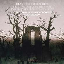 Franz Liszt (1811-1886): Orchesterwerke - Traueroden für Orchester, CD