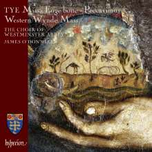 Christopher Tye (1498-1573): Missa Euge Bone, CD