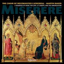 Westminster Cathedral Choir - Miserere, CD