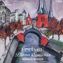 Paul Hindemith (1895-1963): Klaviersonaten Nr.1-3, CD