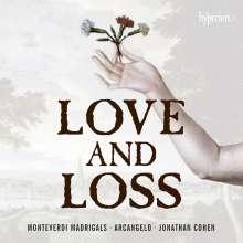 "Claudio Monteverdi (1567-1643): Madrigali ""Love and Loss"", CD"