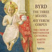 William Byrd (1543-1623): Messen zu 3,4 & 5 Stimmen, CD