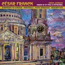 Cesar Franck (1822-1890): Symphonie d-moll (Orgelfassung), CD