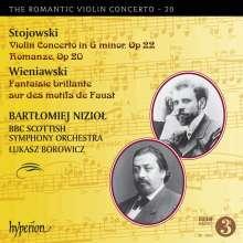 Sigismond Stojowski (1870-1946): Violinkonzert Nr.2 op.22, CD