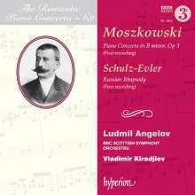 Moritz Moszkowski (1854-1925): Klavierkonzert h-moll op.3, CD