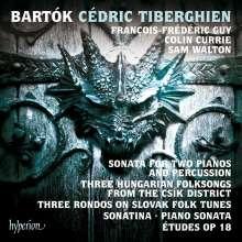 Bela Bartok (1881-1945): Sonate für 2 Klaviere & Schlagzeug, CD