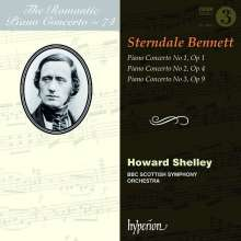 William Sterndale Bennett (1816-1875): Klavierkonzerte Nr.1-3, CD