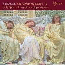 Richard Strauss (1864-1949): Sämtliche Klavierlieder Vol.8, CD