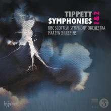 Michael Tippett (1905-1998): Symphonien Nr.1 & 2, CD