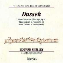 Johann Ludwig Dussek (1760-1812): Klavierkonzerte op. 3, 14, 49, CD