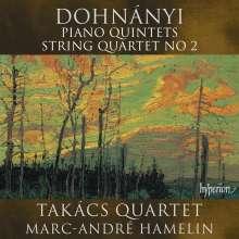 Ernst von Dohnanyi (1877-1960): Klavierquintette Nr.1 & 2, CD