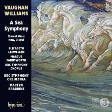 "Ralph Vaughan Williams (1872-1958): Symphonie Nr.1 ""A Sea Symphony"", CD"