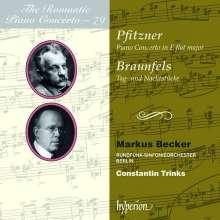 Walter Braunfels (1882-1954): Tag- und Nachtstücke op.44 für Orchester mit obligatem Klavier, CD