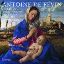 Antoine de Fevin (1470-1512): Missa Ave Maria, CD