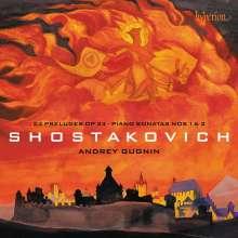 Dmitri Schostakowitsch (1906-1975): Klaviersonaten Nr.1 & 2, CD