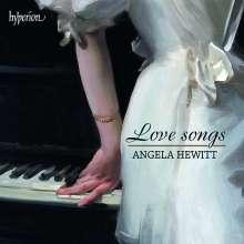 Angela Hewitt - Love Songs, CD